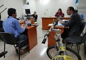 Mario Chávez fue juzgado en el Tribunal Quinto de Sentencia. (Foto Prensa Libre: Hemeroteca PL)