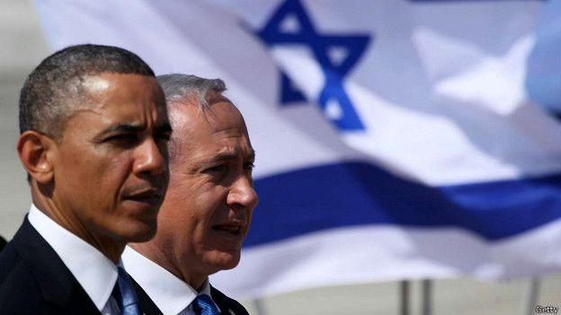 La relaciones entre Obama y Netanyahu no son las más calurosas, pero Estados Unidos sigue siendo un sólido aliado de Israel.  GETTY