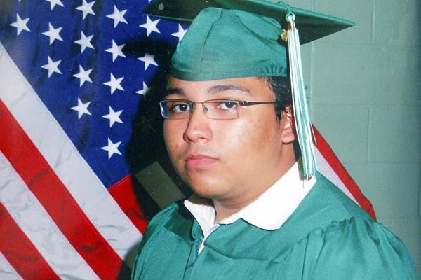 El guatemalteco Marcos Alonso Zea, negó en la corte las acusaciones de que quería unirse a al- Qaeda en la Península Arábig. (Foto Prensa Libre: Agencias)