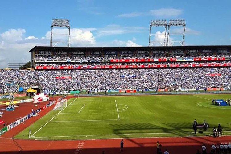El Estadio Olímpico fue suspendido por la Fifa, luego del juego Honduras-Panamá, camino a Rusia 2018. (foto Prensa Libre: Tomada de internet)