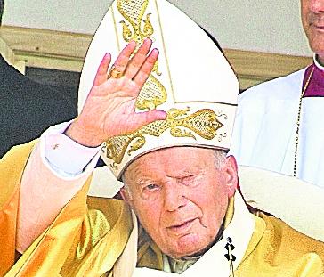 """El papa Juan Pablo II mantuvo durante más de 30 años una amistad """"intensa"""" con una filósofa casada, revelan cartas. (Foto Hemeroteca PL)."""