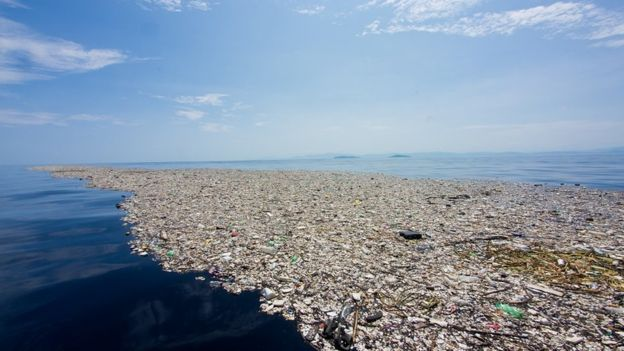 Honduras exige a Guatemala medidas a corto plazo para controlar los vertimientos de basura al mar Caribe. Foto cortesía de Caroline Power.