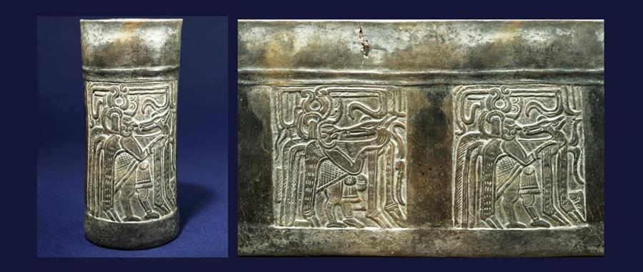 El venado fue el animal de caza por excelencia para las sociedades mayas de la antigüedad. (Foto Nicholas Hellmuth / Museo Popol Vuh UFM)