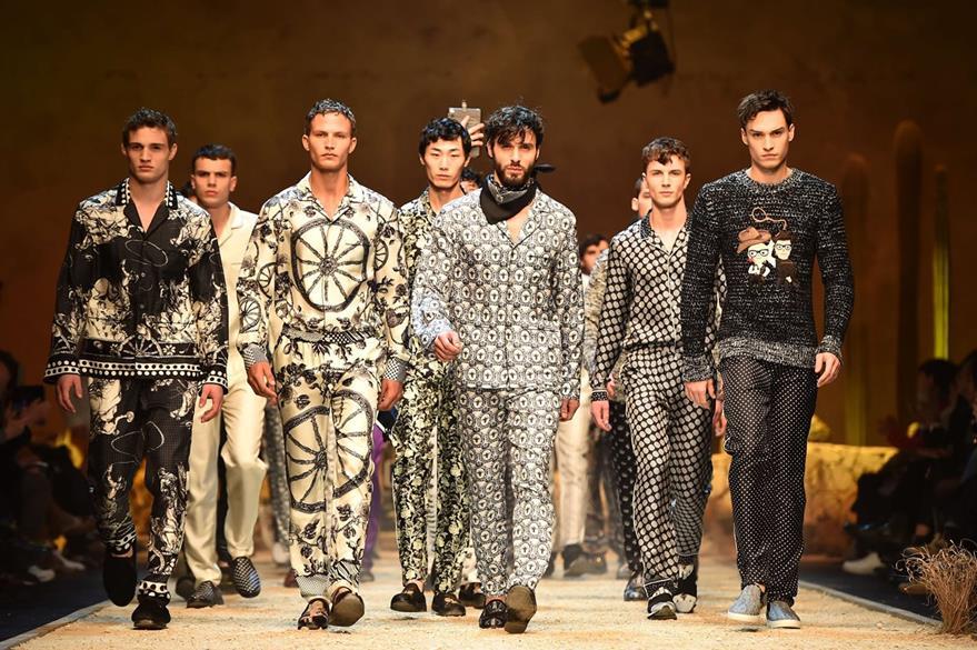 La nueva colección de Dolce & Gabbana fue presentada en un escenario muy original.