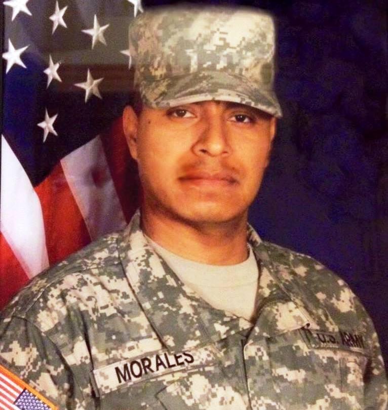 Honrado y orgulloso de haber servido a este gran país como soldado de infantería. ¡Feliz Día de los Veteranos! (Foto Prensa Libre: Facebook Diego Morales)