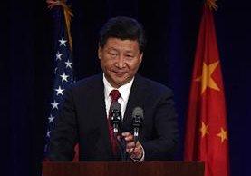 """<em><span class=""""hps"""">El presidente de China</span><span>, Xi Jinping,</span> <span class=""""hps"""">habla</span> <span class=""""hps"""">durante </span><span class=""""hps"""">un ecuentro con empresariso en el inicio de</span> <span class=""""hps"""">su visita a</span>&nbsp; <span class=""""hps"""">EEUU.</span></em>"""