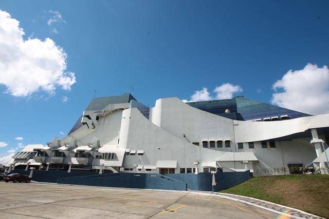 El cambio de mando presidencial se efectuará este jueves 14 en el Teatro Nacional. (Foto Prensa Libre: Hemeroteca PL)