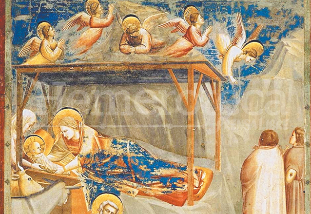 Fresco de la capilla Scrovegni, pintado por Giotto en 1304. (Foto: Hemeroteca PL)