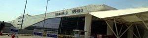 Aeropuerto en Nueva Delhi.