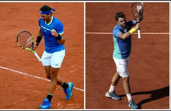 Rafael Nadal y Stan Wawrinka prometen un juego de lujo en la gran final. (Foto Prensa Libre: Agencias)