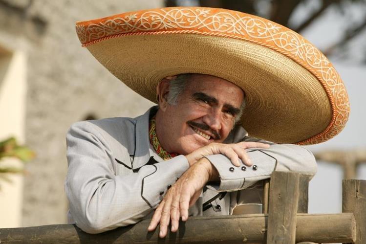 Vicente Fernández dará un gran concierto para decir adiós al escenario. (Foto Prensa Libre: Hemeroteca PL)