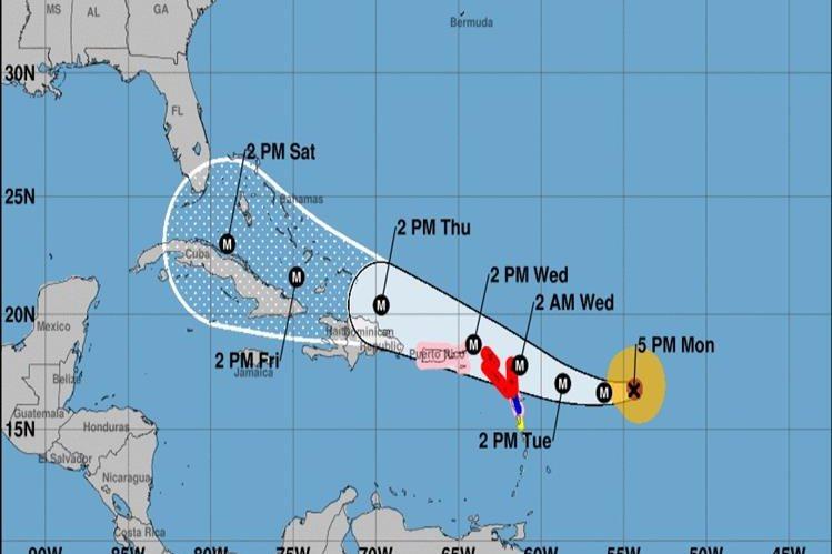 irma avanza en el caribe y amenaza florida con categoría 4