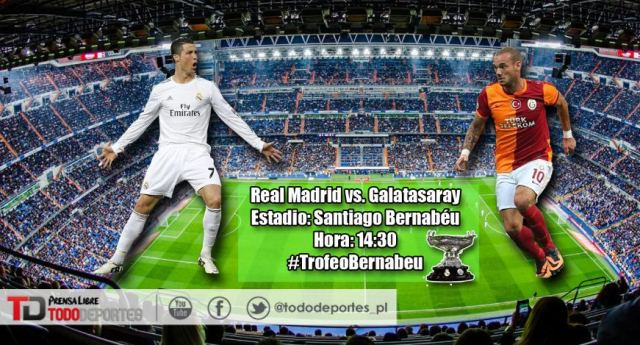 Real Madrid Fútbol En Directo: Real Madrid Vs. Galatasaray