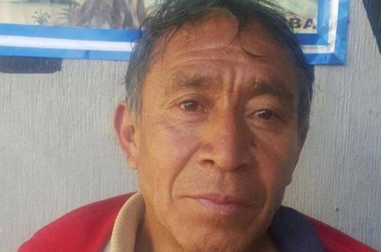 Florencio Morales Mendoza es señalado de posesión de material pornográfico de personas menores de edad. (Foto Prensa Libre: María José Longo)