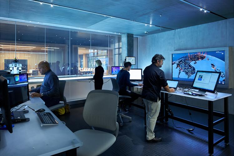 La Unidad de Crimen Digital de Microsoft, con sede en EE. UU., reúne a un equipo internacional de expertos en seguridad informática.