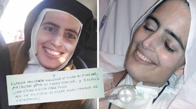 Hermana Carmelita  descalza Cecilia María; conmueven las redes sociales