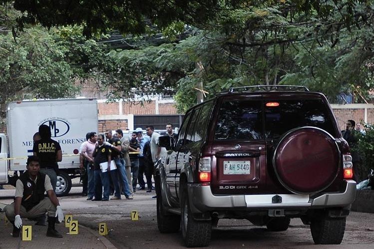Honduras registra un promedio diario de 13 personas asesinadas.(Foto Prensa Libre: EFE).