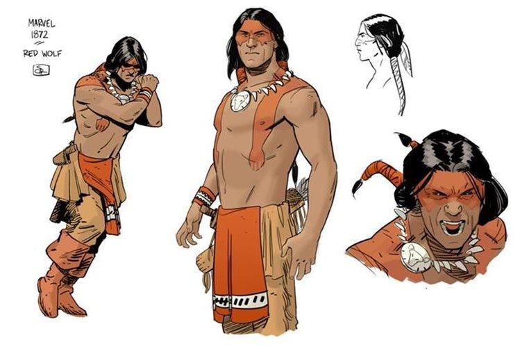 Superhéroe Indio Nativo Lobo Rojo, De Marvel, Tendrá Su