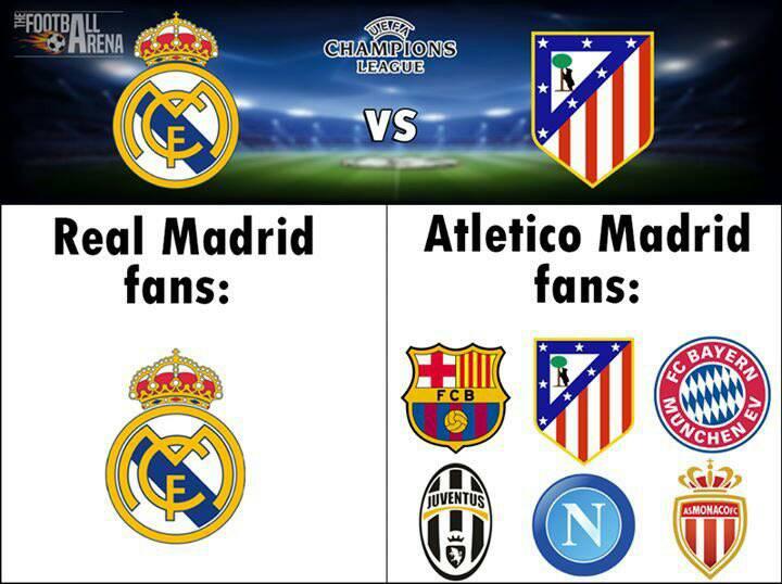 La emoción del Real Madrid vs Atlético se complementó con ...