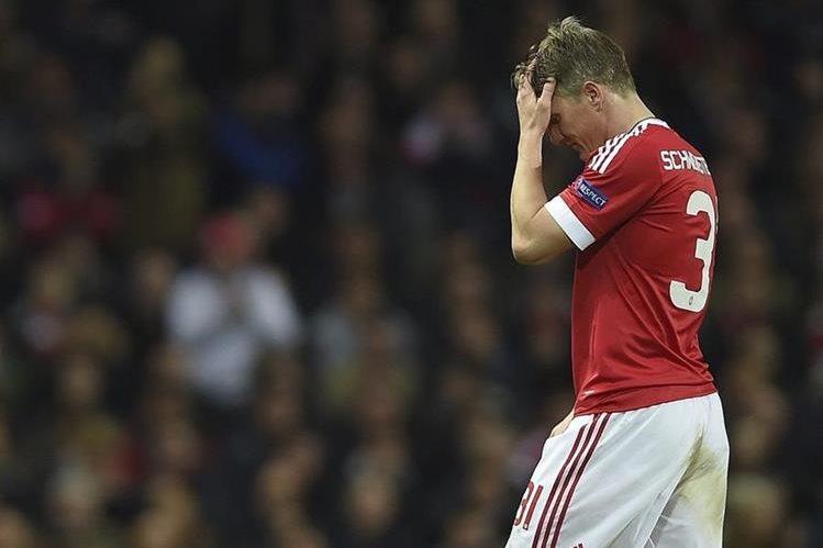 Bastian Schweinsteiger no podrá disputar la fase de grupos de la Liga de Campeones. (Foto Prensa Libre: Hemeroteca PL)